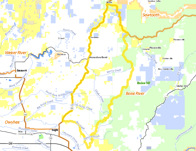 Hunt Area Idaho Hunt Planner