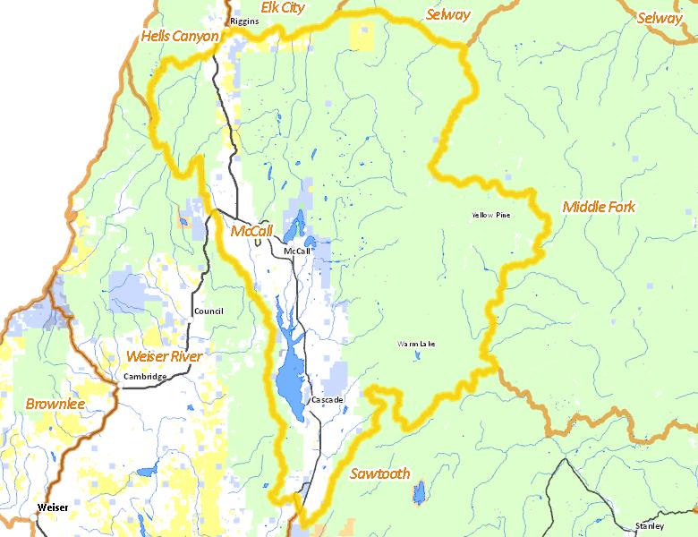 Mccall Zone Idaho Hunt Planner