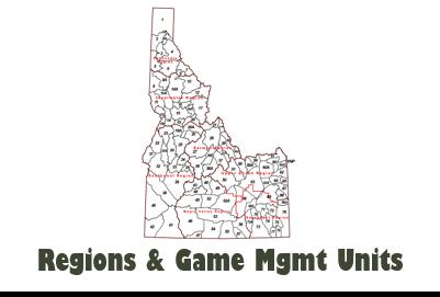 Regions & GMUs
