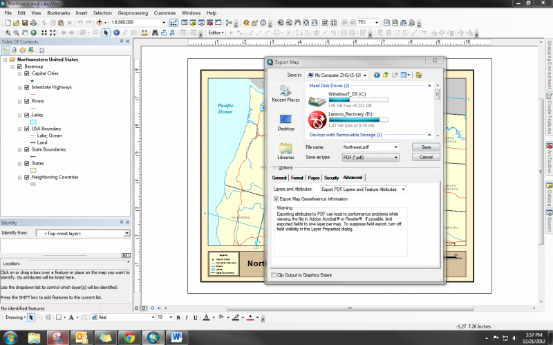 Geospatial PDF?!? How to Create a Geospatially Aware PDF | Idaho