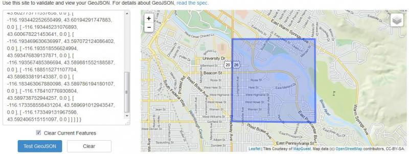 Basic Steps for Converting an ArcMap Shapefile to GeoJSON