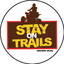 Stay on Trails!