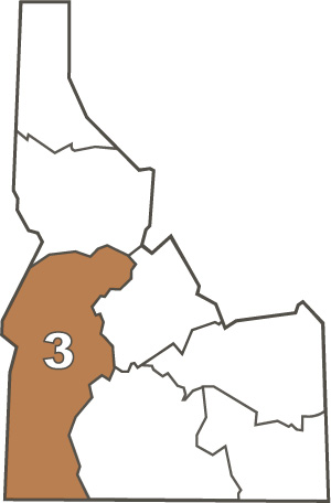 Southwest Region 3 Map