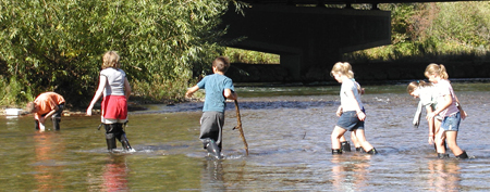 Class In The Creek Program Explores the Boise River