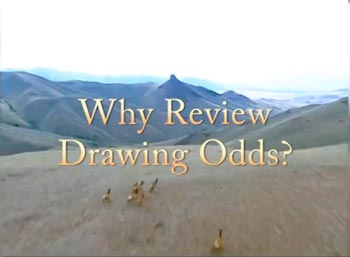 options for improving drawing odds