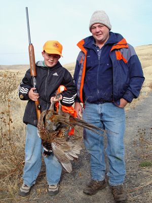 First Pheasant Hunt