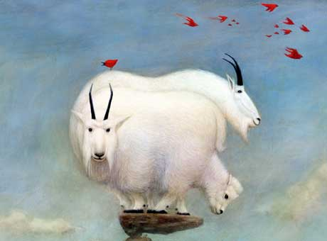 Mountain Goat Poster - Buy One!