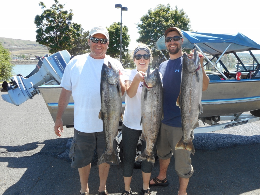 Clearwater region chinook salmon update 5 31 16 idaho for Fish and game stocking report