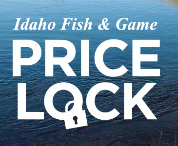 Price lock proposal idaho fish and game for Idaho fish and game regulations