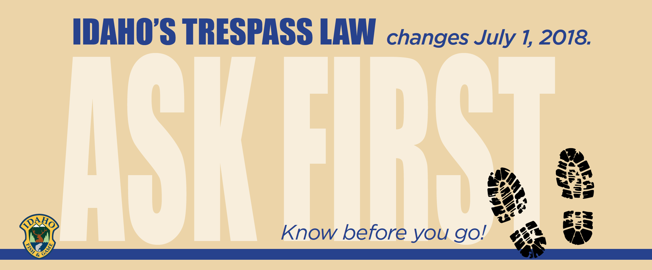 2018 Trespass Law | Idaho Fish and Game