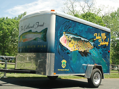 "Idaho Fish and Game's ""Take Me Fishing"" Trailer"