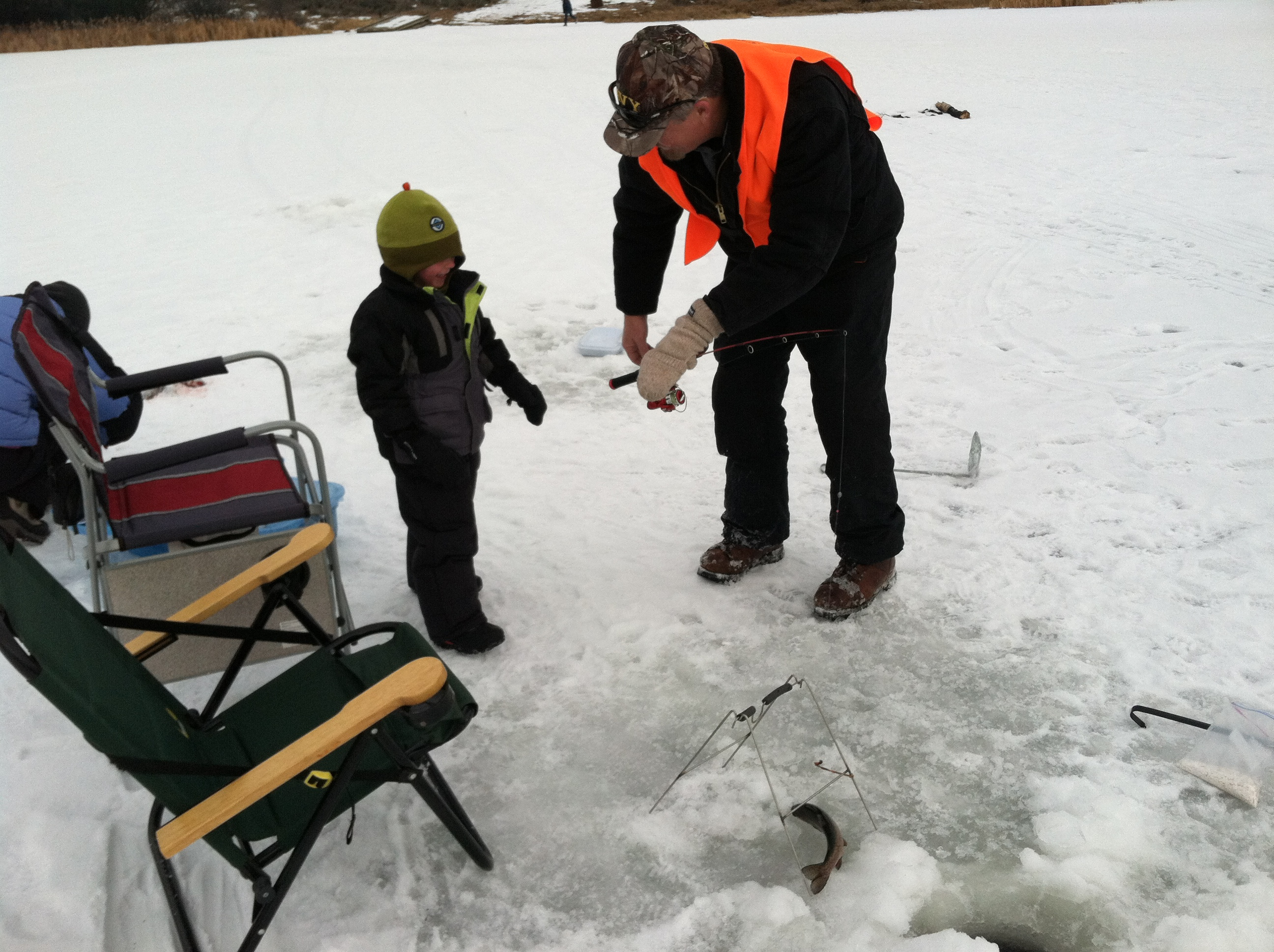 Cascade reservoir ice fishing report dec 20 idaho fish for Southeast idaho fishing report