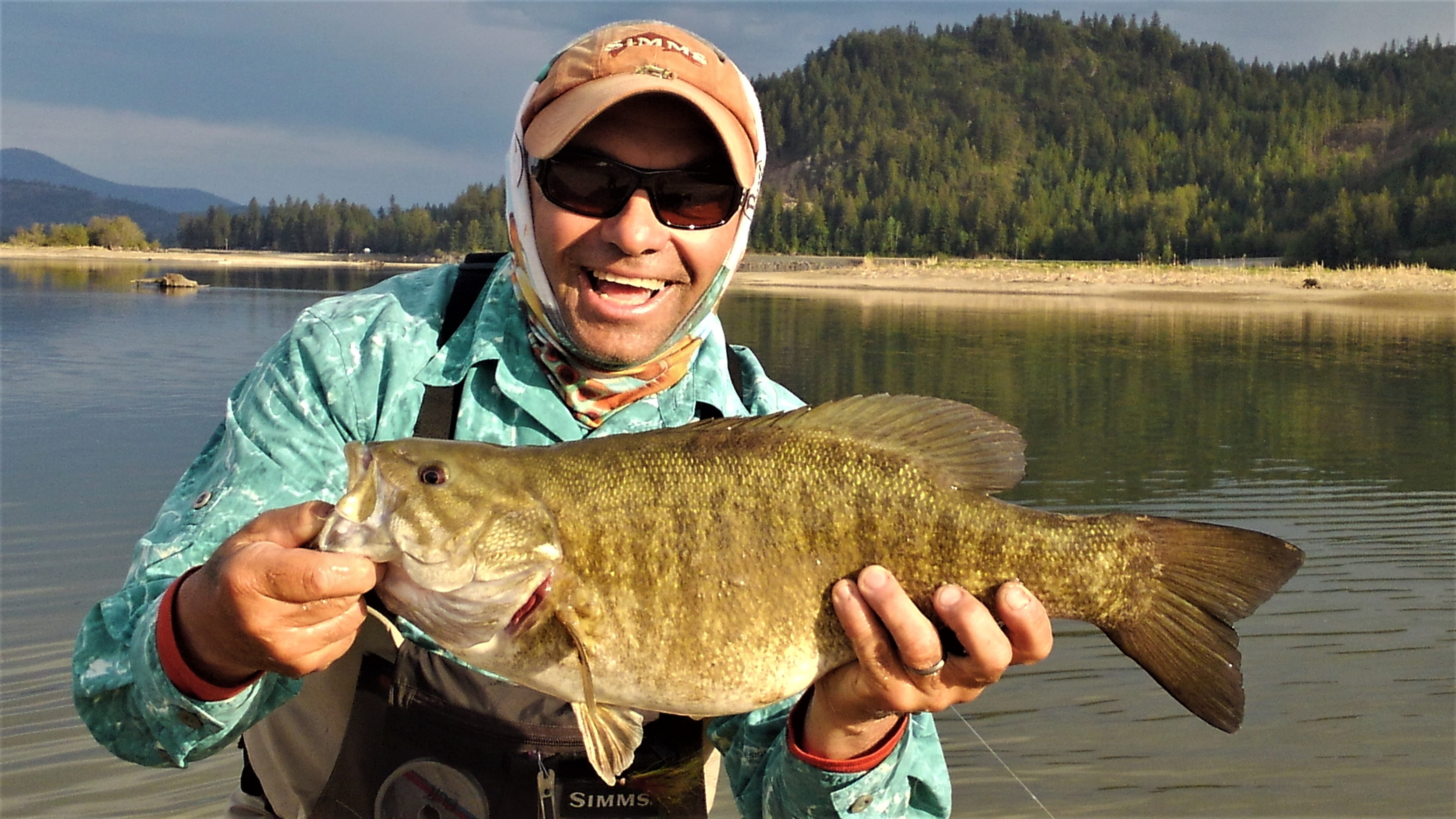 Catch/release record smallmouth May 2018