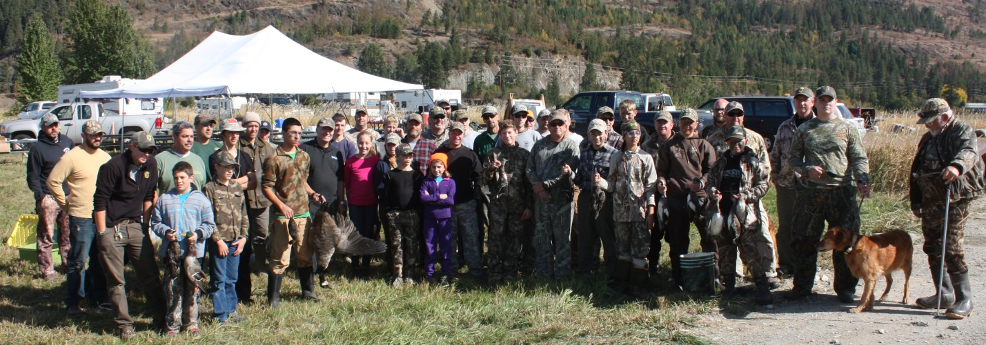 Waterfowl Youth Hunt 2016 Group Photo