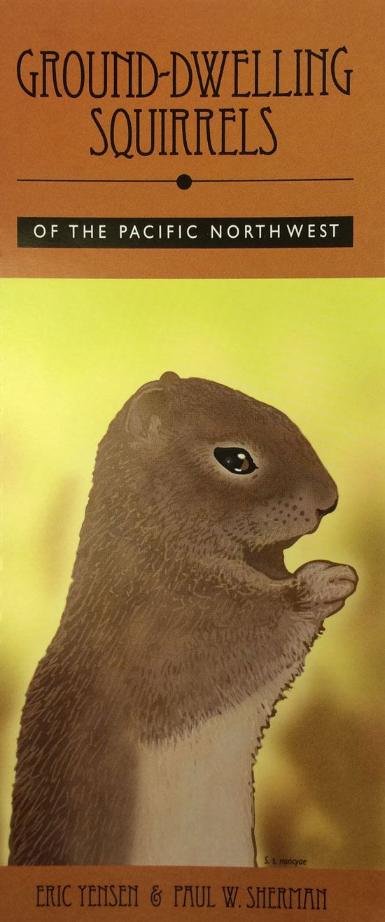 Ground-dwelling Squirrels of the Pacific Northwest booklet cover