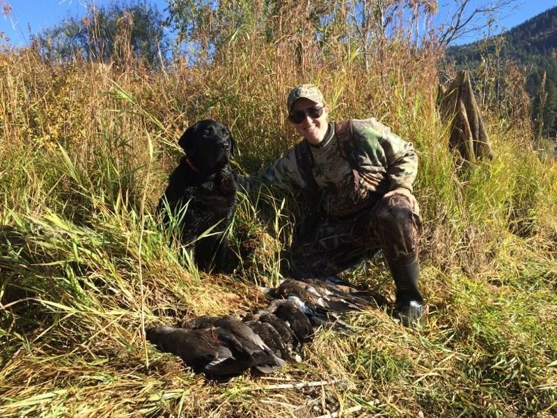 Successful waterfowl hunt in the Panhandle