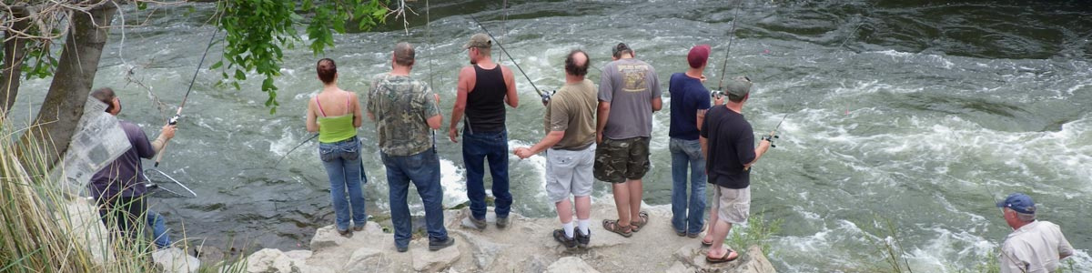 Fishing pressure on Little Salmon River