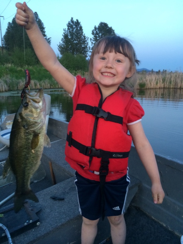 girl with her bass