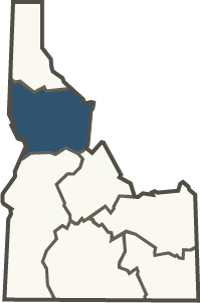 Clearwater region inset map