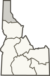 Panhandle region inset map