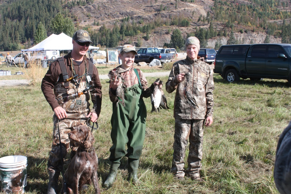 Youth waterfowl hunters