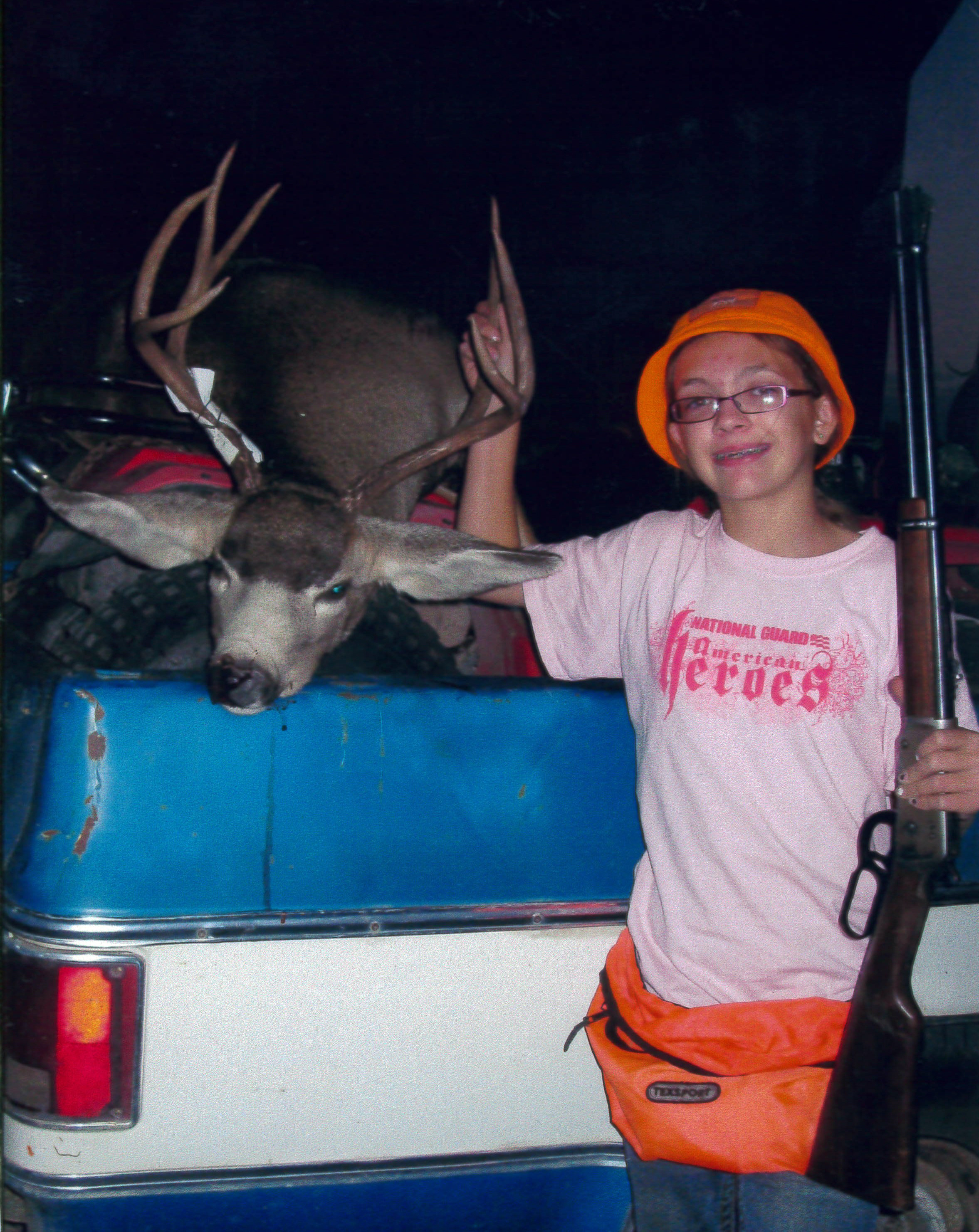 Allie Ward with first deer