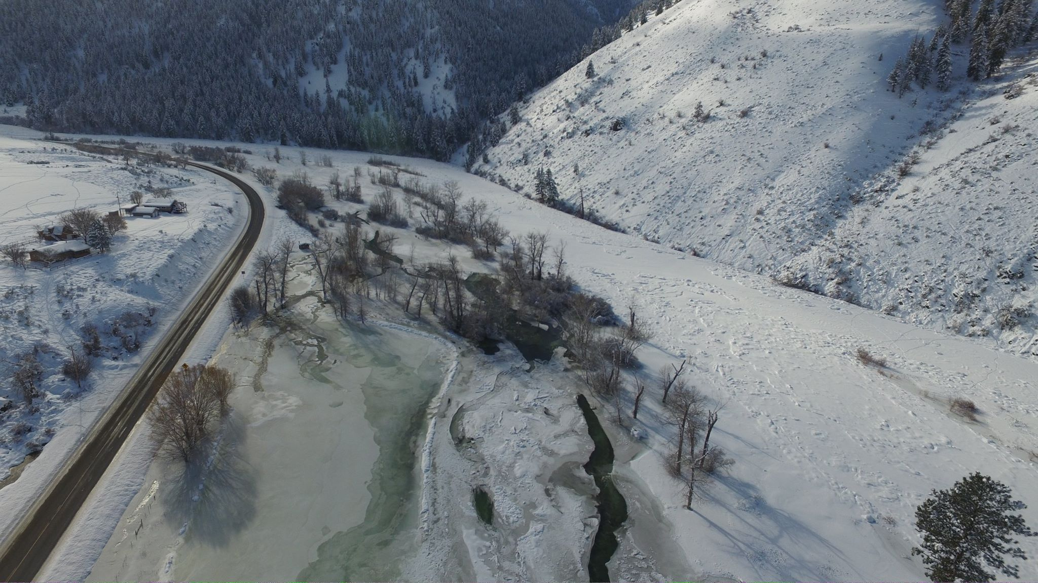 Thinking about steelhead fishing on the upper salmon river for Ice fishing idaho