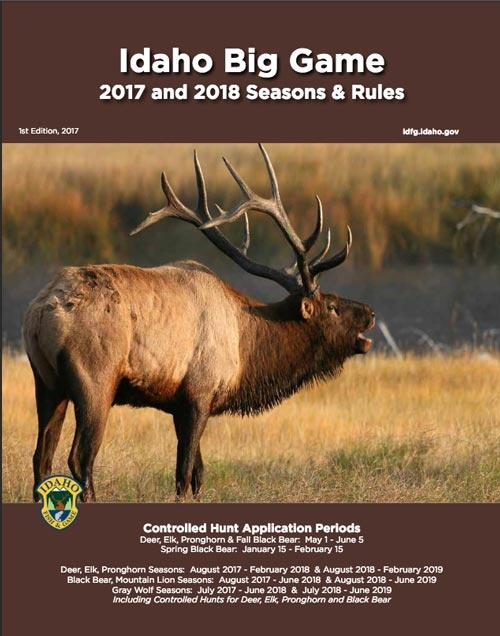 Big Game Seasons and Rules