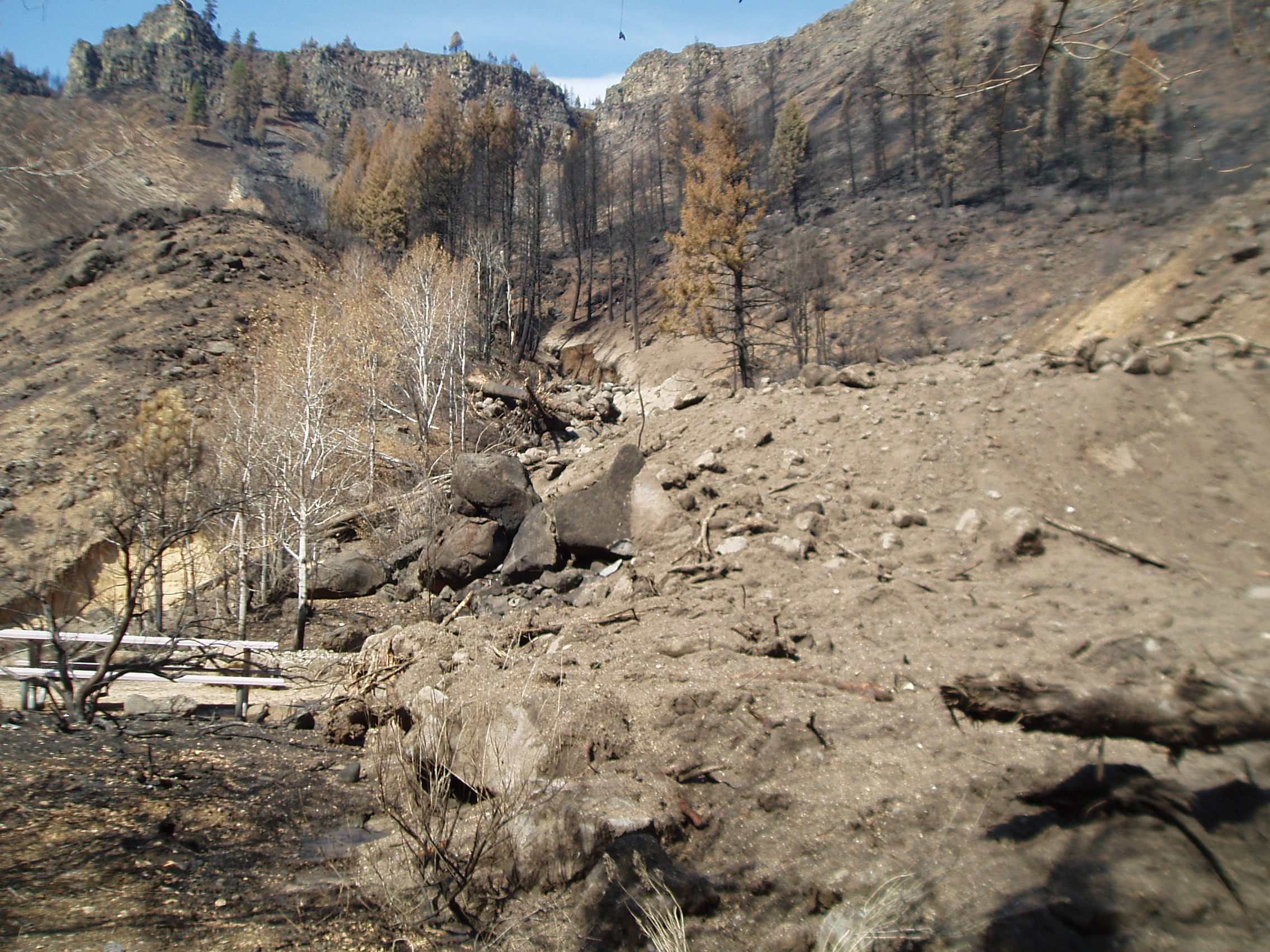 Tailwaters Campground (post-fire)