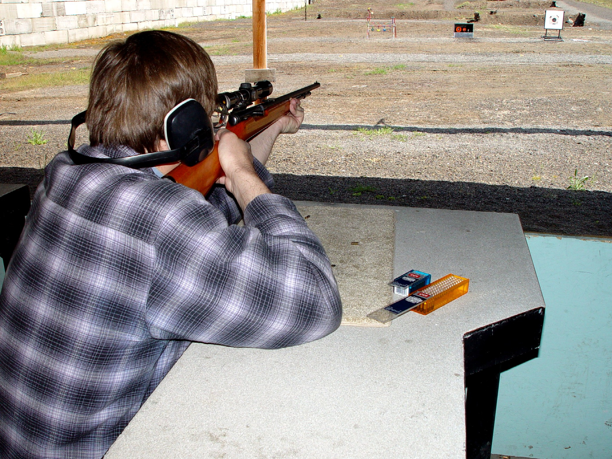 rifle shooting range
