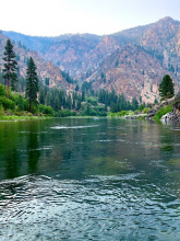 Middle Fork of the Salmon River scenery