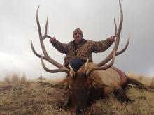 Super Hunt winner Arie Roeloffs in 2013. Facebook post