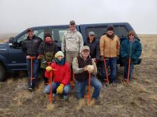 Tex Creek Planting Volunteers 2019
