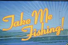Take Me Fishing trailer art