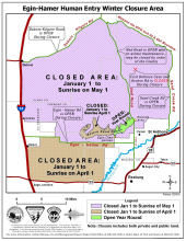 Egin Hamer winter closure map