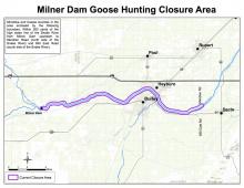 milner goose closure map