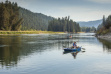 anglers fish from kayaks on the Kootenai River September 2015