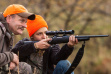 Sighting-in rifle before the season