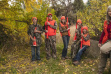 Hunter education class with instructor Jill Green