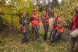 Hunter education class with instructor Jill Green