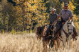 Backcountry officers on horseback / Photo by Glenn Oakley