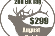 Discount 2nd elk tag icon