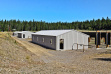 Farragut Shooting Range - shooting sheds exterior view