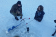 Ice Fishing on SPring Valley Reservoir