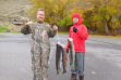Stringer of steelhead caught fishing on the Clearwater in 2016