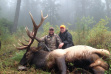 two men and their bull elk December 2013