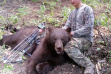 Black bear, Dean Johnson, archery harvest, controllec hunt, Unit 32A