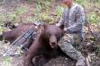 Black bear, Dean Johnson, archery harvest, controllec hunt, Unit 32A