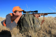 antelope rifle hunter / Mike Demick, IDFG