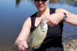 Pend Oreille River Crappie / Photo by Rob Morris